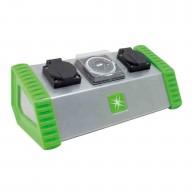 LUMii 2 Socket Contactor Timer