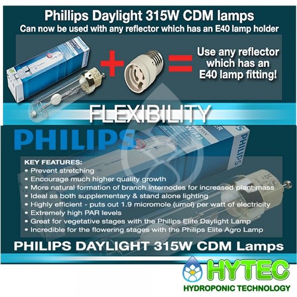 E40 To 315w Cmd Lamp Adapter