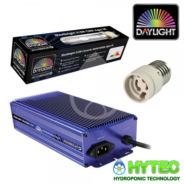 MAXIBRIGHT DAYLIGHT LAMP AND BALLAST 315W WITH E40-PGZ18 KIT
