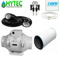 "4""/100mm Ram Carbon filter kit with TT fan."