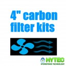 "4""/100mm Carbon Filter Kits"