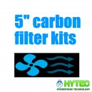 "5""/125mm Carbon Filter Kits"