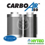 CARBOAIR 50 200MM X 500MM 1000M3/H