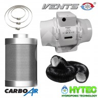 CarboAir™ 50 filter kits with TT fan