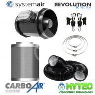 CarboAir™Filter kits with Vector EC Fan