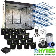4 X MAXIBRIGHT DAYLIGHT 660W PRO LED COMPLETE PREMIUM GROW TENT KIT