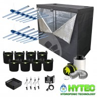 2 X DAYLIGHT 660W PRO LED COMPLETE GROW TENT KIT