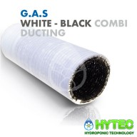 G.A.S BLACK -WHITE COMBI DUCTING 10m 152mm