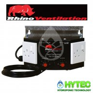 Rhino Silent Thermostatic Fan Controller 5 Speed 2 Amp