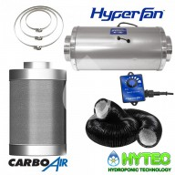 CARBOAIR™ Filter kits with Phresh Hyper Stealth Fan