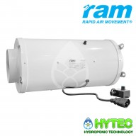 RAM EC SILENCED INLINE FAN 150MM-531m³/hr