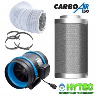 CARBOAIR™ FILTER KITS WITH RADAIR FAN