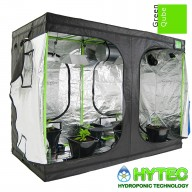 GREEN-QUBE GQ2030 (NEW) - 2.0M X 3M X 2.2M - GROW TENT SILVER