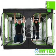 Green-Qube GQ200L (New) - 2.0m x 2.0m x 2.2m - Grow Tent Silver