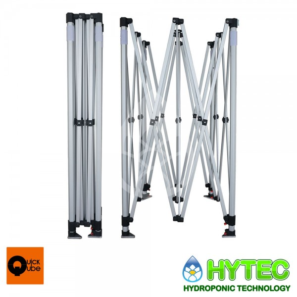 Quick qube qq300l new 3m x 3m x 2 2m grow tent silver for Cuisine 3m x 2m