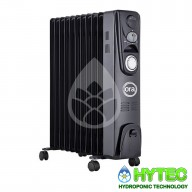 ORA OIL FILLED RADIATOR - 2500W TIMED HEATER