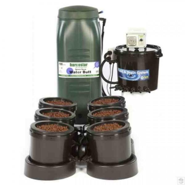 IWS Flood & Drain 6 pot system