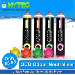 OCD DEO-MAX ODOUR NEUTRALISER AEROSOL 750ML 💨🍋🍊👕🍬💨 OCD DEO-MAX Aerosol Spray contains a unique formula which is a scientifically tested and proven professional odour eliminator. Deo-Max gets to work fast breaking down atmospheric molecules, airborne chemicals and bacteria which cause bad odours. Completely neutralising them. It also has anti-bacterial, anti-fungal properties.   #odour #ocdonline #hytechydroponics #ocd #professional #growshopuk #lemon #orange #freshlinen #bubblegum #neutralise #growyourown #uk420