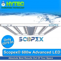 LED Launch 🚀  New LED Plant Lighting @hytec_hydro_sheffield & @hytec_hydro_chesterfield   Introducing @scopex_led 680 watt Advanced LED built in dimmable control, waterproof LED bars, system efficacy of 2.7uMol/J, Samsung & Osram LED's, Area coverage Veg 2m x 2m - Flower From 1.2m x 1.2m to 1.5m x 1.5m   @omegalighting OMEGA LUNA & SPECTRA, 630watt 2.7 umols, dimmable. G100, G220, G430 Spectra, click for details...  @scopex_led @omegalighting @hytec_hydro_sheffield @hytec_hydro_chesterfield @ledplantlight @ledhorticulture @ledplantlight @uk420 @quality @growyourown @growyourownmeds @growyourownvegetables