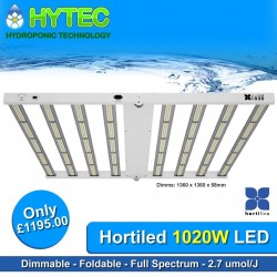 are proud to offer you the Next Generation of LED Grow-lights, The time has come to offer growers the highest wattage LED grow-lights on the market to-date. 🔆 Introducing the Hortiline Hortiled 1020W full spectrum LED grow-light and Maxibrights Daylight 1030W Pro LED grow-light both boasting impressive power and size and producing very high efficacy of over 2.7 umol! 🔆 Pre-order of these lighting fixtures is available now! 🔆 Contact us to reserve your new LED grow-light now on 0114 228 0024, email sales@hytechorticulture.co.uk or simply pop in one of our stores and talk to us direct. 🔆 #hytechydroponics #hytechorticulture #hortiline #hortiled #maxibright #daylight #led #ledgrowlight #growlights #uk420 #growyourown #sheffield #chesterfield #growshop #hydroponics #indoorgrowing #hydroshop #uk #growlight #growlights #ukhydroponics