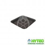 Square Plant Pot Saucers Trays 330mm-330mm-30mm