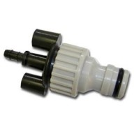 6mm Outlet to male Hosepipe