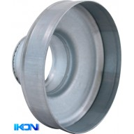 Ducting. reducer. 125/100mm