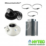 "4""/100 mm Mountain Air Filter kits with RVK fan"